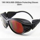 190-540 & 800-2000nm Infrared Laser Protecting Glasses OD4+