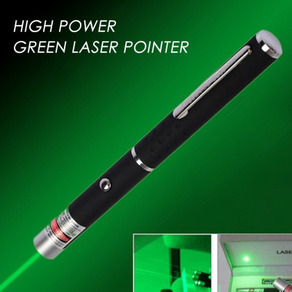 Top Quality 532nm Green Laser Pointer Pen Cool Gadgets 5mW - 500mW
