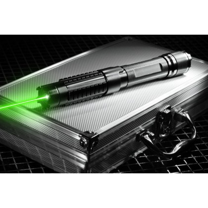 10000mW 532nm Tactic Green Laser Pointer Extremely Long Range Powerful Enough Burn Plastic