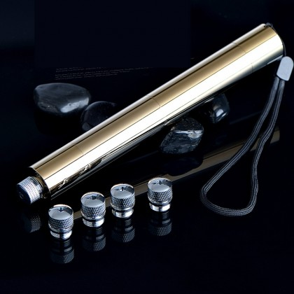30000mW Powerful Blue Laser Pointer Copper Plating 5 in 1