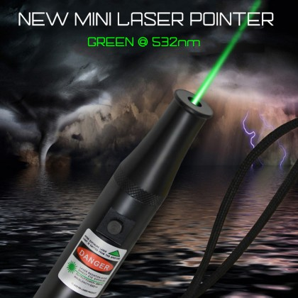 200mW Green Beam Bullet Style Mini Laser Pen Tiny Laser Pointer High Power