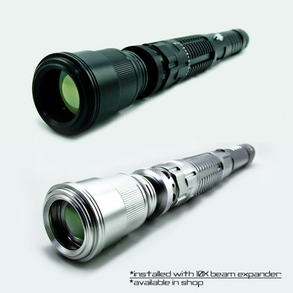 3000mW 980nm Invisible Infrared Laser Pointer for Professionals