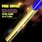 Powerful Blue Laser Pointer from 10W to 30W  Gold Edition
