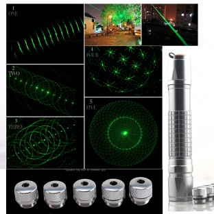 3000mW High Power 532nm Green Laser Pointer Adjustable Visible Beam