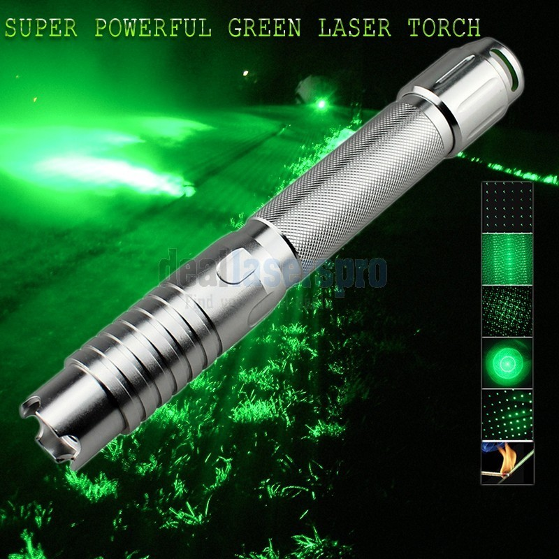 Most Powerful Green Burning Laser Pointer