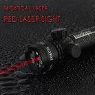 Laser Sight Red Rifle Sight Scope for Hunting With External Quick Windage and elevation