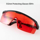 520nm, 532nm Green Laser Protection Glasses OD4+